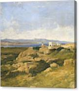 General Garibaldi S Residence At Caprera  Canvas Print