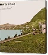 Geneva Lake Canvas Print