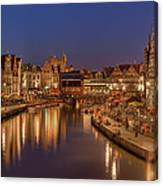 Gent - 03101119 Canvas Print