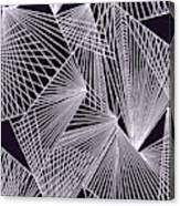 Geometric Pattern 1-colour-1 Canvas Print