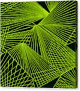 Geometric pattern 1-colour-9 Canvas Print