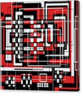 Geometric Stylization 2 Canvas Print