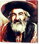 George Gabby Hayes, Vintage Actor Canvas Print