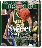 George Mason Lamar Butler, 2006 Ncaa Playoffs Sports Illustrated Cover Canvas Print