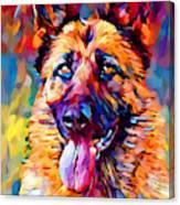 German Shepherd 11 Canvas Print