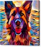German Shepherd 8 Canvas Print