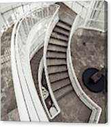 Getty Stairs Canvas Print