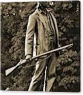 Gettysburg Battlefield - John Burns Canvas Print