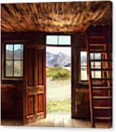 Ghost Town Cabin Canvas Print