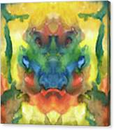 Ghost - Watercolor Painting On Paper Canvas Print