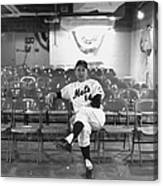 Gil Hodges Of The 1969 New York Mets Canvas Print