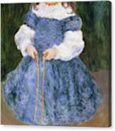 Girl With Jumping Rope, 1876 Canvas Print