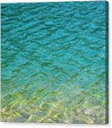 Glacial Depths Canvas Print