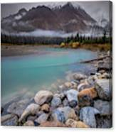 Glacial Waters / Banff, Canada  Canvas Print
