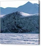 Glacier Cracked Under Pressure Canvas Print