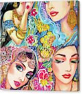 Glamorous India Canvas Print
