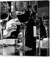 Glasses Of Wine Canvas Print