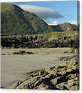 Glassilaun Beach Connemara Canvas Print