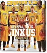 Go Ahead, Try To Jinx Us. Wichita State The Unbeaten Sports Illustrated Cover Canvas Print