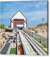 Goat Island Boat House Canvas Print