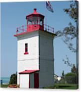 Goderich Lighthouse Canvas Print