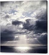 Gods Above Us Canvas Print