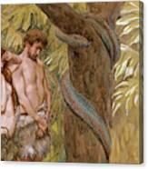 Gods Curse, Adam And Eve Canvas Print