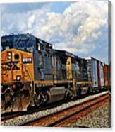 Going On A Train Ride Canvas Print