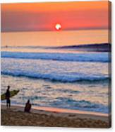 Gold Cup Sunset Canvas Print