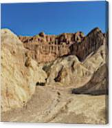Golden Canyon's Red Cathedral Canvas Print