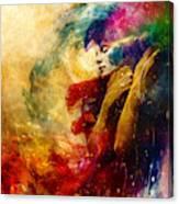 Golden Gloom Canvas Print