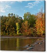 Golden Hour At Esopus Meadows II Canvas Print