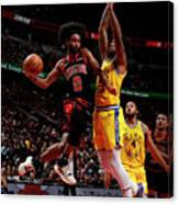 Golden State Warriors V Chicago Bulls Canvas Print