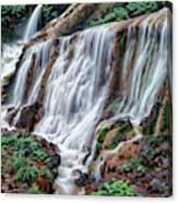 Golden Waterfall Canvas Print