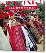 Golf Bags, 1954 Masters Tournament Sports Illustrated Cover Canvas Print