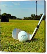 Golf Day Canvas Print
