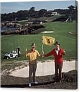 Golfing Pals Canvas Print