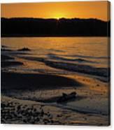 Good Harbor Bay Sunset Canvas Print