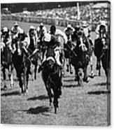 Goodwood Race Canvas Print