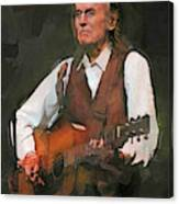 Gordon Lightfoot Canvas Print