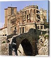 Gothic Church Of Santa Maria Assunta Canvas Print