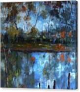 Goulburn Reflections Canvas Print