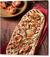 Gourmet Pizza Canvas Print