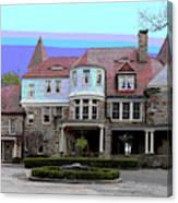 Graceland Mansion  Canvas Print
