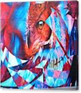 Graffiti Mural Design Canvas Print