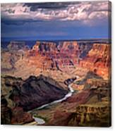 Grand Canyon, Arizon, Usa Canvas Print
