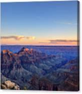 Grand Canyon National Park At Sunset Canvas Print