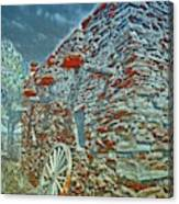 Grand Canyon Stone House Canvas Print