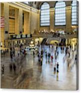 Grand Central Motion Canvas Print