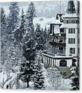 Grand Hotel Alpina Canvas Print